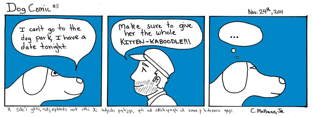 Dog Comic 3